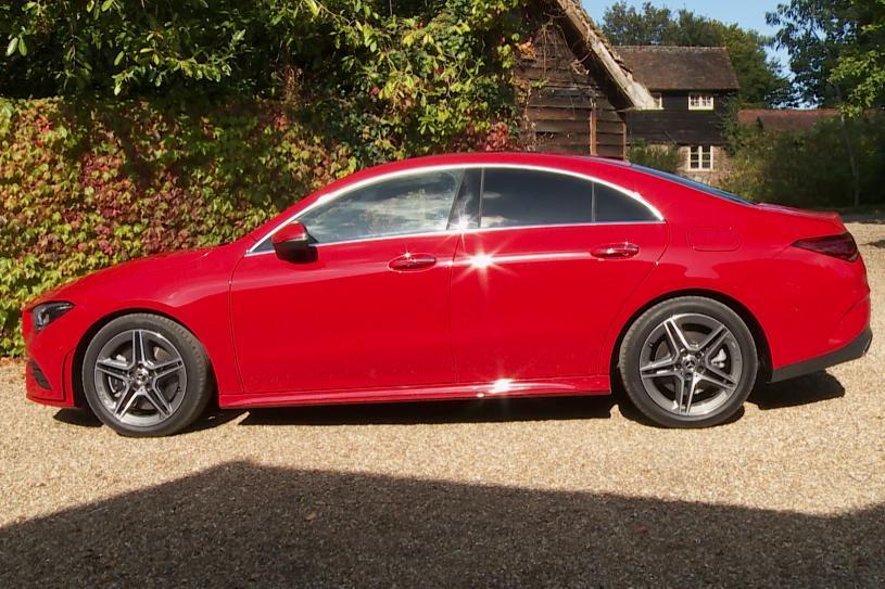 Mercedes-Benz Cla Amg Coupe CLA 35 Premium 4Matic 4dr Tip Auto