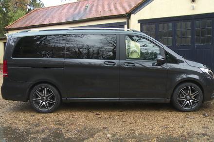 Mercedes-Benz V Class Diesel Estate V220 d AMG Line 5dr 9G-Tronic [Long]