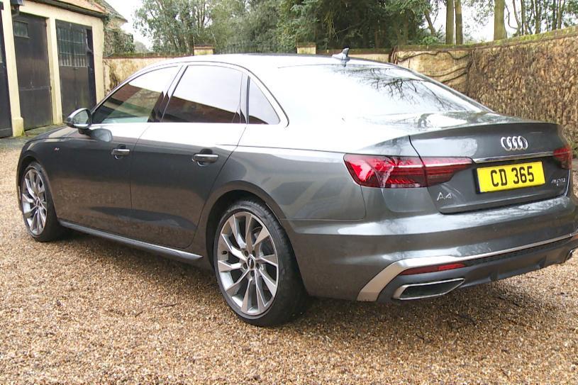 Audi A4 Saloon 35 TFSI Black Edition 4dr S Tronic [Comfort+Sound]