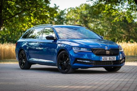 Skoda Superb Diesel Estate 2.0 TDI CR SE L 5dr DSG